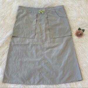 Divided Size 6 Paper Bag Skirt Draw String